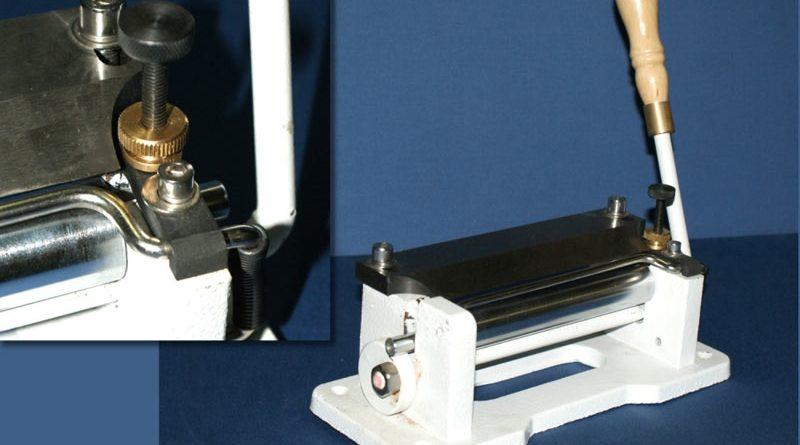 800 handbetriebener Leder-Splitter / Leder-Skiver