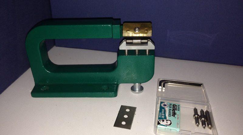 807 Ökonomische und praktische Leder-Schälmaschine