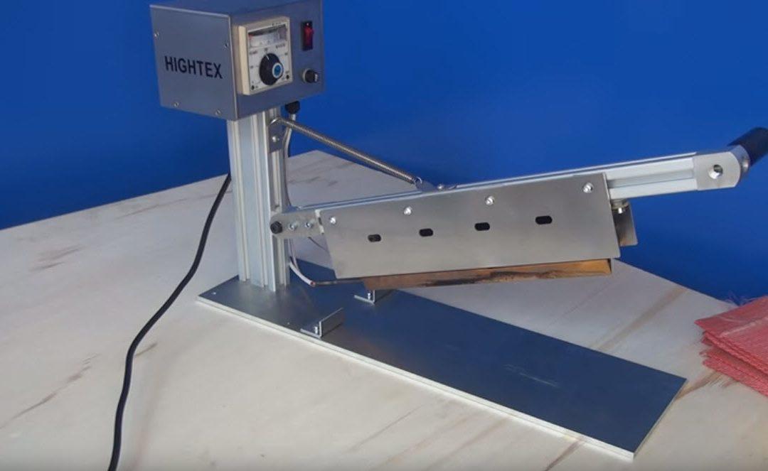 8907 Industrielle Heißmesser Schneidemaschine