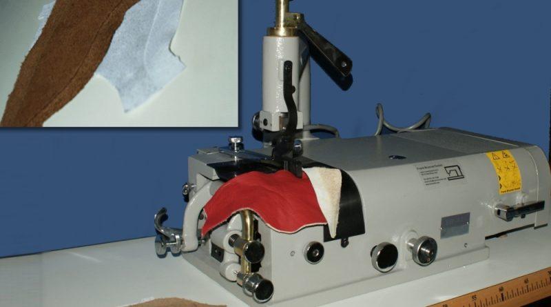 801 Leder-Schärfmaschine Ausschärfmaschine / leather skiving machine